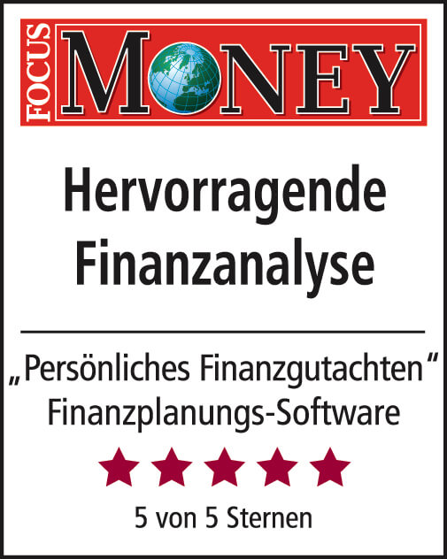 "Focus Money: ""Hervorragende Finanzanalyse"""